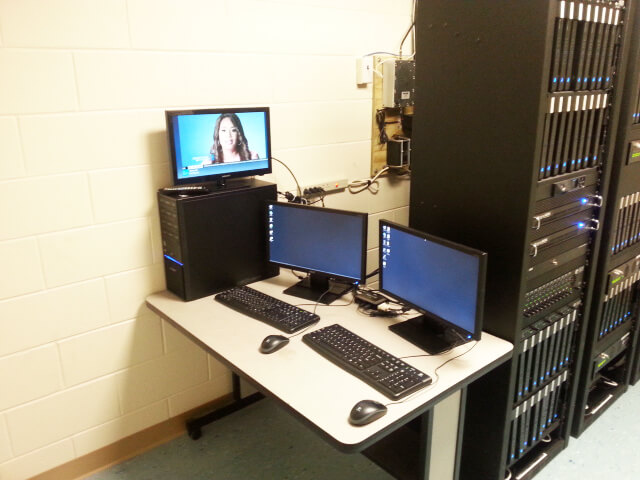 Server room setup for business