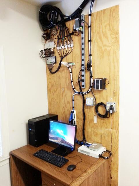 Server room setup